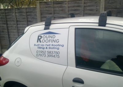 Roofing work in Dudley